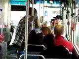 67 vs 50 драка в транспорте .забавный перевод